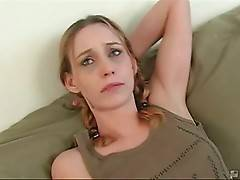 Cute Skinny Blonde Wants Some Black Rods 2