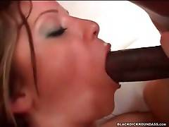 Yummy Chick Gets Drilled By Black Friend 2
