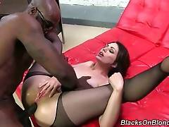 Hot Sarah Shevon Tastes Cum After Great Anal 3