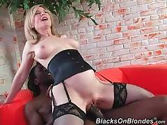 Horny Black Guy Bangs Pretty Older Blonde 2
