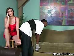 Tegan Mohr Is Very Curious About Big Black Dicks 1