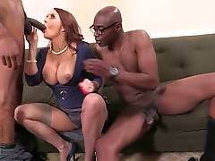 Janet Mason Tastes Sean Michaels And Isiah`s Dicks 2