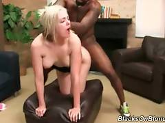 Busty Blonde Loves To Get Fucked By Black Guys 2